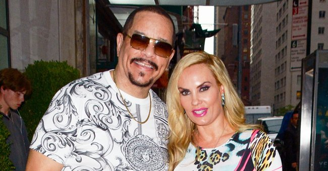 Ice-T & Coco Austin's Adorable Daughter Chanel Poses in a Cool Dress with Matching Accessories