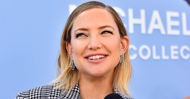 Kate Hudson Says Her Son Ryder Is a Great Big Brother as He Interrupts Her Interview
