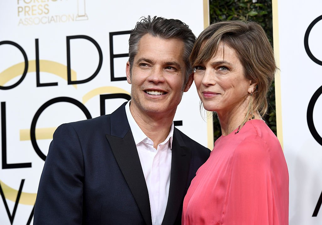 Timothy Olyphant and Alexis Knief at the 74th Annual Golden Globe Awards on January 8, 2017   Photo: Getty Images