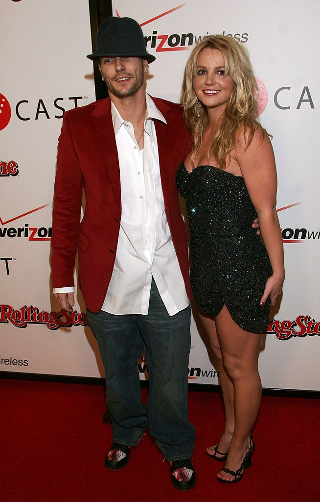 Britney Spears and Kevin Federline on February 6, 2005 in Hollywood, California | Photo: Getty Images