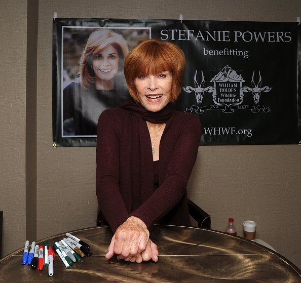 Stefanie Powers at Hilton Parsippany on October 27, 2018 in Parsippany, New Jersey | Photo: Getty Images