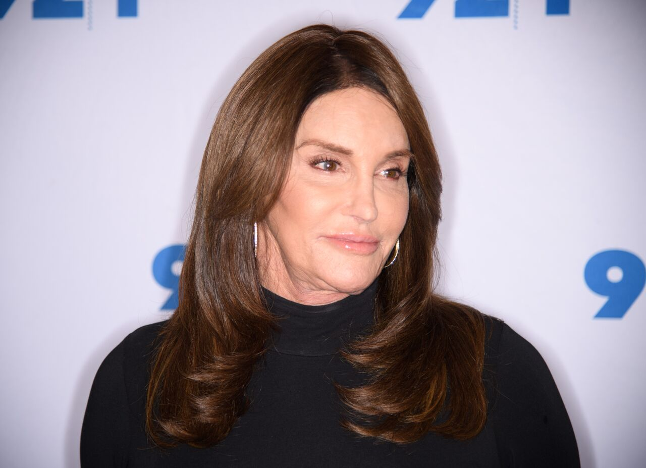 Caitlyn Jenner attends the Transgender Identity and Courage event with Jennifer Finney Boylan. | Source: Getty Images