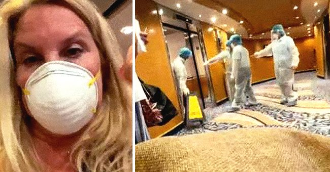 Woman Gets Kicked Off a Cruise Ship over Positive COVID Test