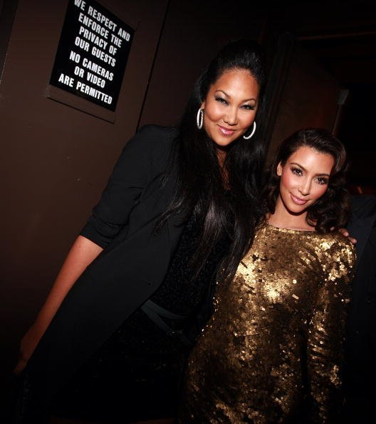 Kimora Lee Simmons and Kim Kardashion attend the MTV Video Music Awards after party | Photo: Getty Images