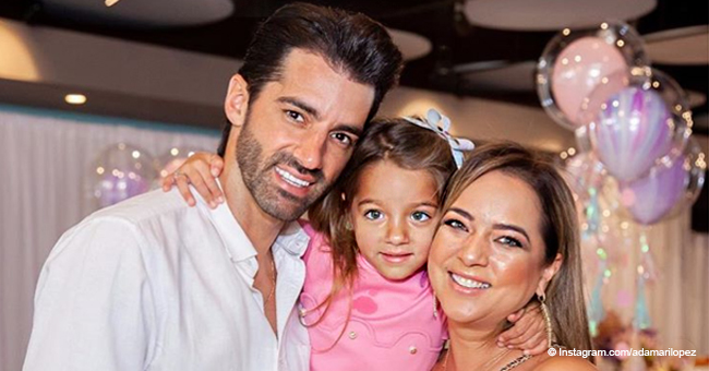 Alaïa, la hija de Adamari López y Toni Costa, sufrió un accidente en su dedo