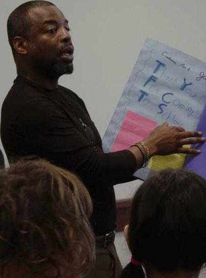 LeVar Burton at the Schlow Centre Region Library, January 29, 2007 | Source: Wikimedia