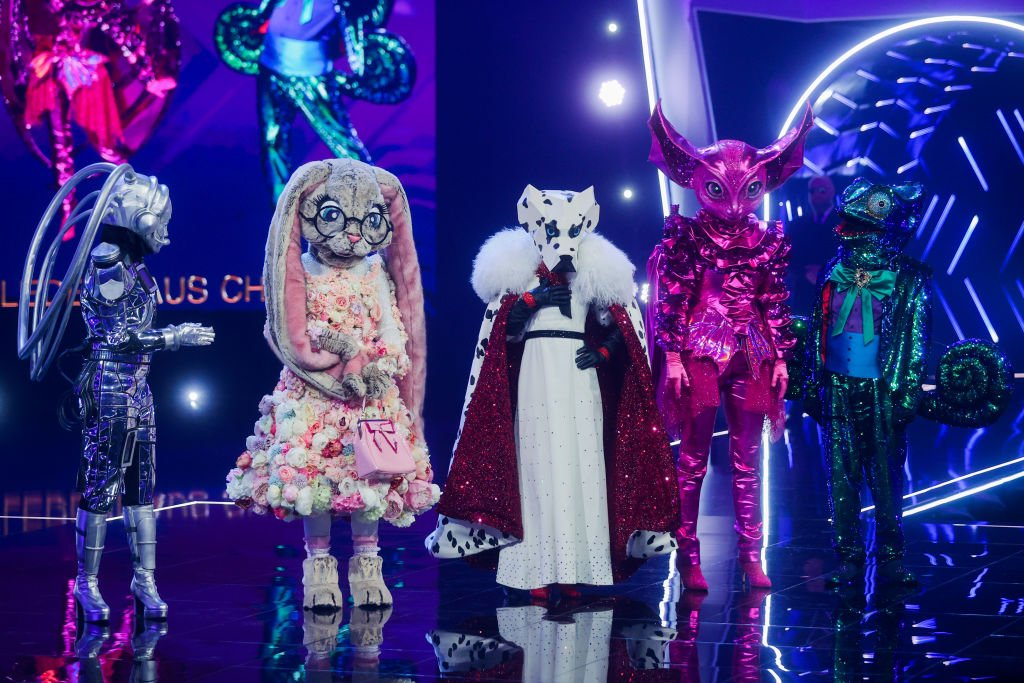"""Characters are on stage during the Prose Seven show """"The Masked Singer"""" on March 10, 2020  