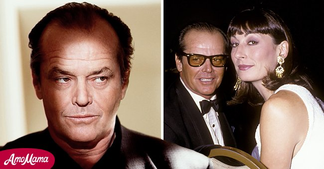 Pictures of Jack Nicholson with actress Anjelica Houston | Photo: Getty Images