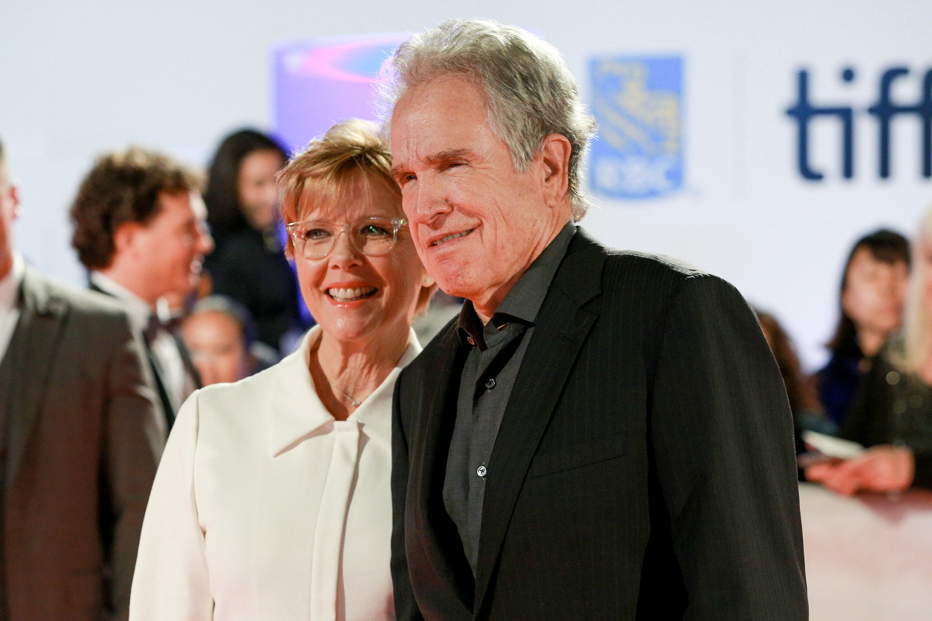 Annette Bening and Warren Beatty attend the 'Film Stars Don't Die in Liverpool' premiere on September 12, 2017 in Toronto, Canada. | Source: Getty Images.