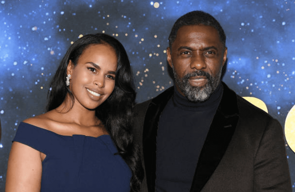 """Sabrina Dhowre Elba and Idris Elba arrive for the premiere of """"Cats"""" at the Lincoln Center on December 16, 2019, in New York 