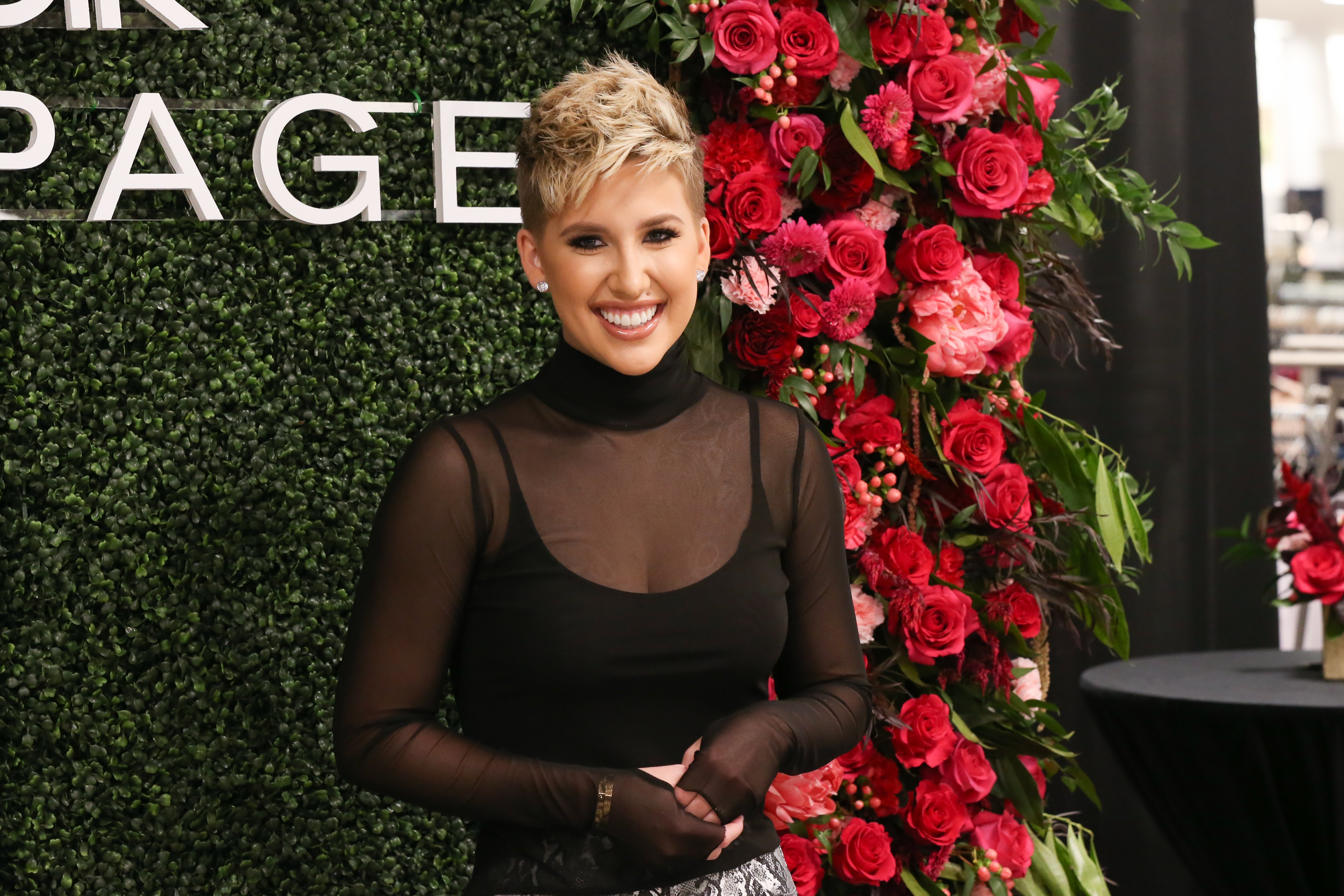 Savannah Chrisley makes a personal appearance at Belk at Cool Springs Galleria Mall on November 05, 2019 in Franklin, Tennessee. | Source: Getty Images