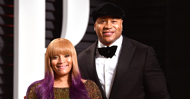LL Cool J's Wife Simone Poses in Fashionable Denim Outfit & Black Boots in a Gorgeous Photo