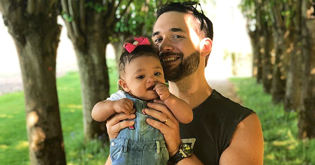 Serena Williams' Husband Alexis Seeks to Join Natural Hair Groups for His Daughter's Sake
