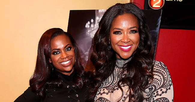 Kenya Moore Tells Wendy Williams That Kandi Burruss Makes the Most Money on RHOA