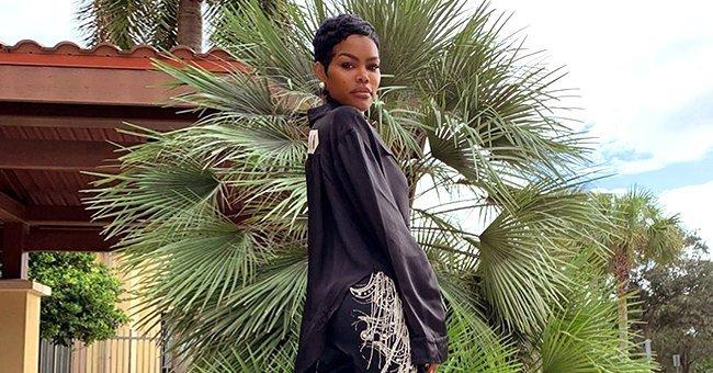 A portrait of Teyana taken by her daughter Junie   Source: Instagram / Teyana Taylor