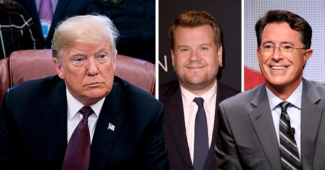Late-Night Hosts Stephen Colbert, Jimmy Fallon, James Corden on Trump v Teigen & Legend Twitter War
