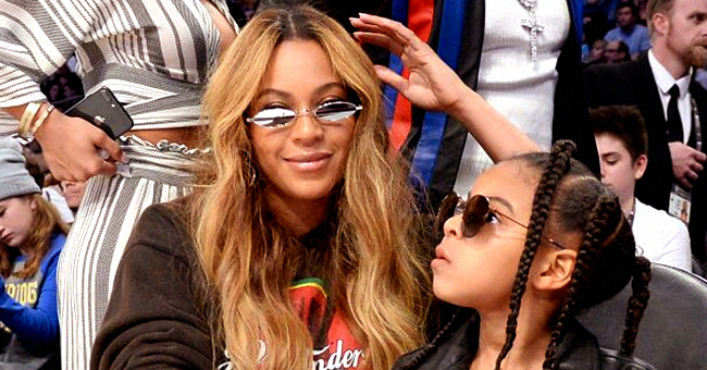 Beyoncé's Daughter Blue Ivy Is a Mini Fashionista at Her Rose Gold-Themed 7th Birthday Party
