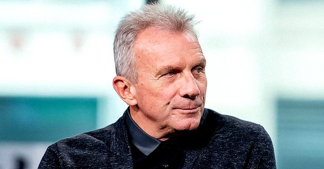 """Joe Montana pictured discussing """"Breakaway from Heart Disease"""" with the Build Series, 2018, New York City. 