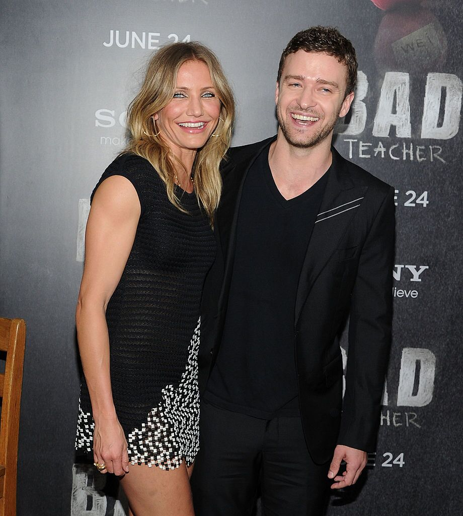 "Cameron Diaz and Justin Timberlake at the premiere of ""Bad Teacher"" in 2011 in New York 