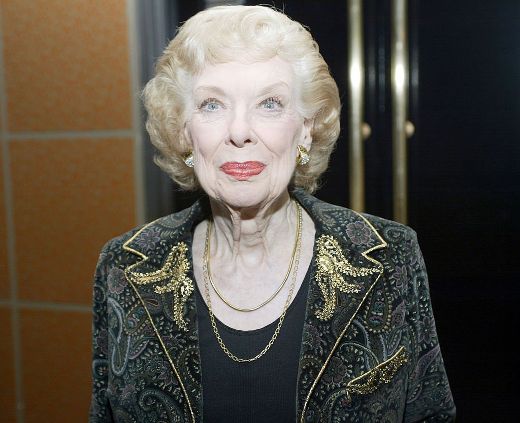 Joyce Randolph during USO of Metropolitan New York's Special Dinner for the Tuskegee Airmen - March 21, 2006 at Pegasus Room at the Rainbow Room in New York, United States. | Photo: Getty Images