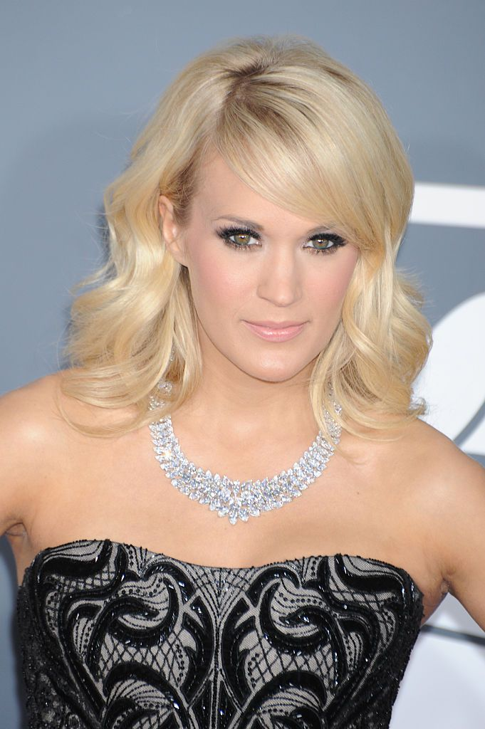 Carrie Underwood at the 55th Annual Grammy Awards on February 10, 2013, in Los Angeles | Photo: Frank Trapper/Corbis/Getty Images