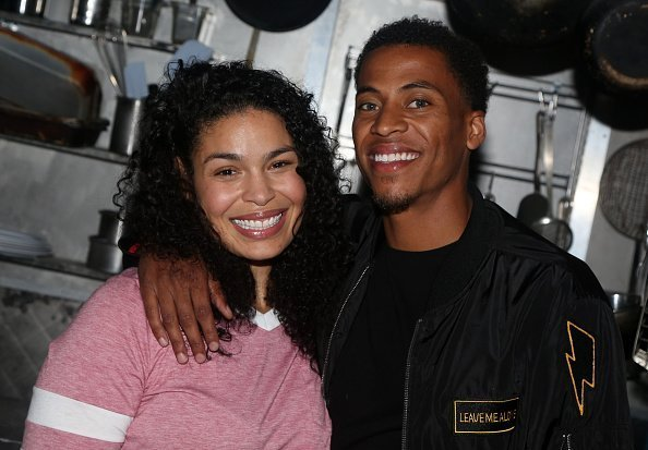 Jordin Sparks and husband Dana Isaiah at The Brooks Atkinson Theatre on September 16, 2019   Photo: Getty Images