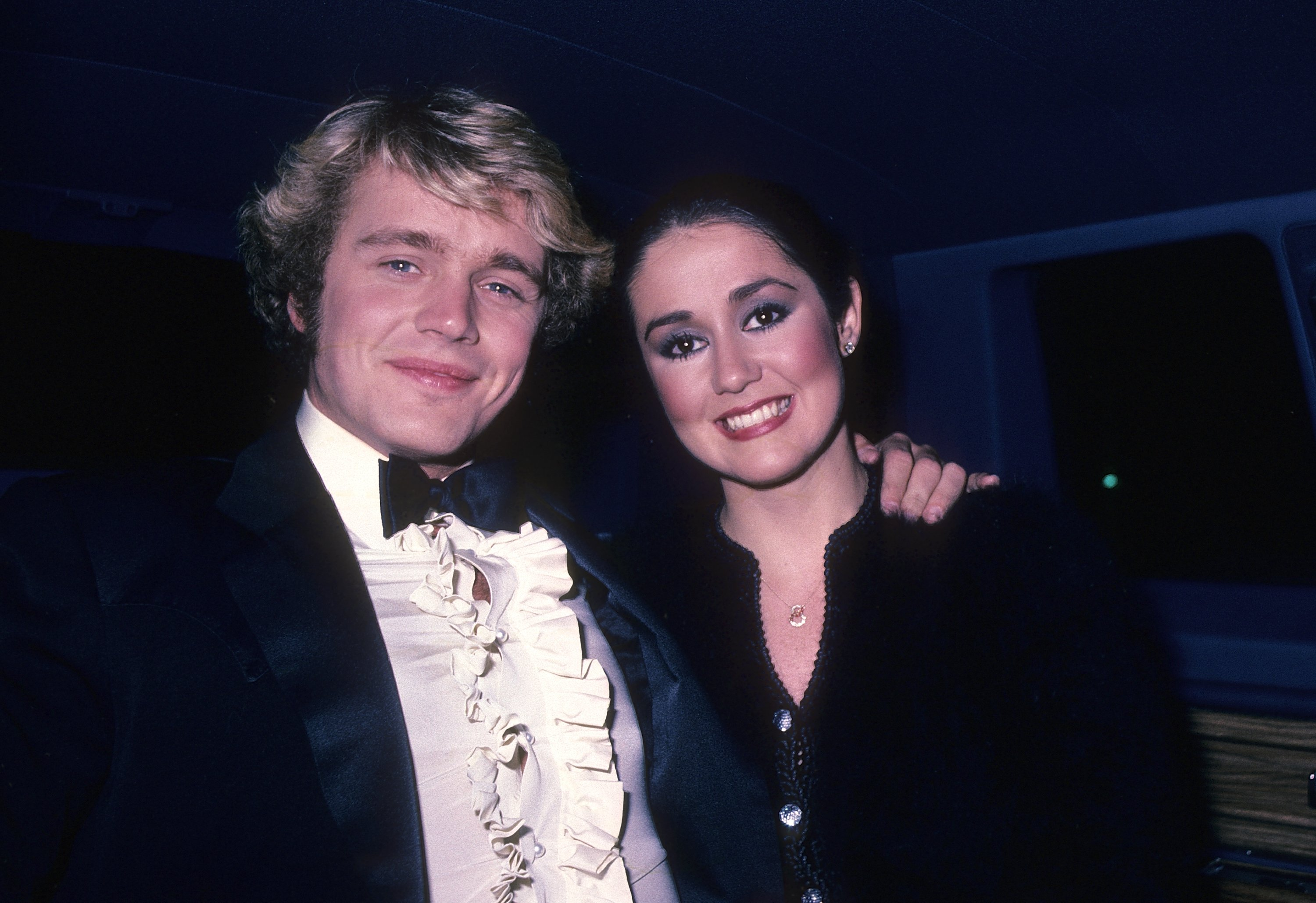John Schneider and Tawny Little attend the American Video Association's First Annual American Video Awards on April 6, 1983 at the Beverly Theatre in Beverly Hills, California | Photo: GettyImages