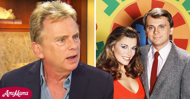 """Pat Sajak and Vanna White shooting """"Wheel of Fortune"""" season 10 and Sajak talking to Hoover Institution 