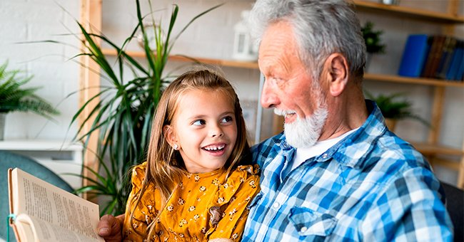 Daily Joke: A Little Girl Was Sitting on Her Grandfather's Lap