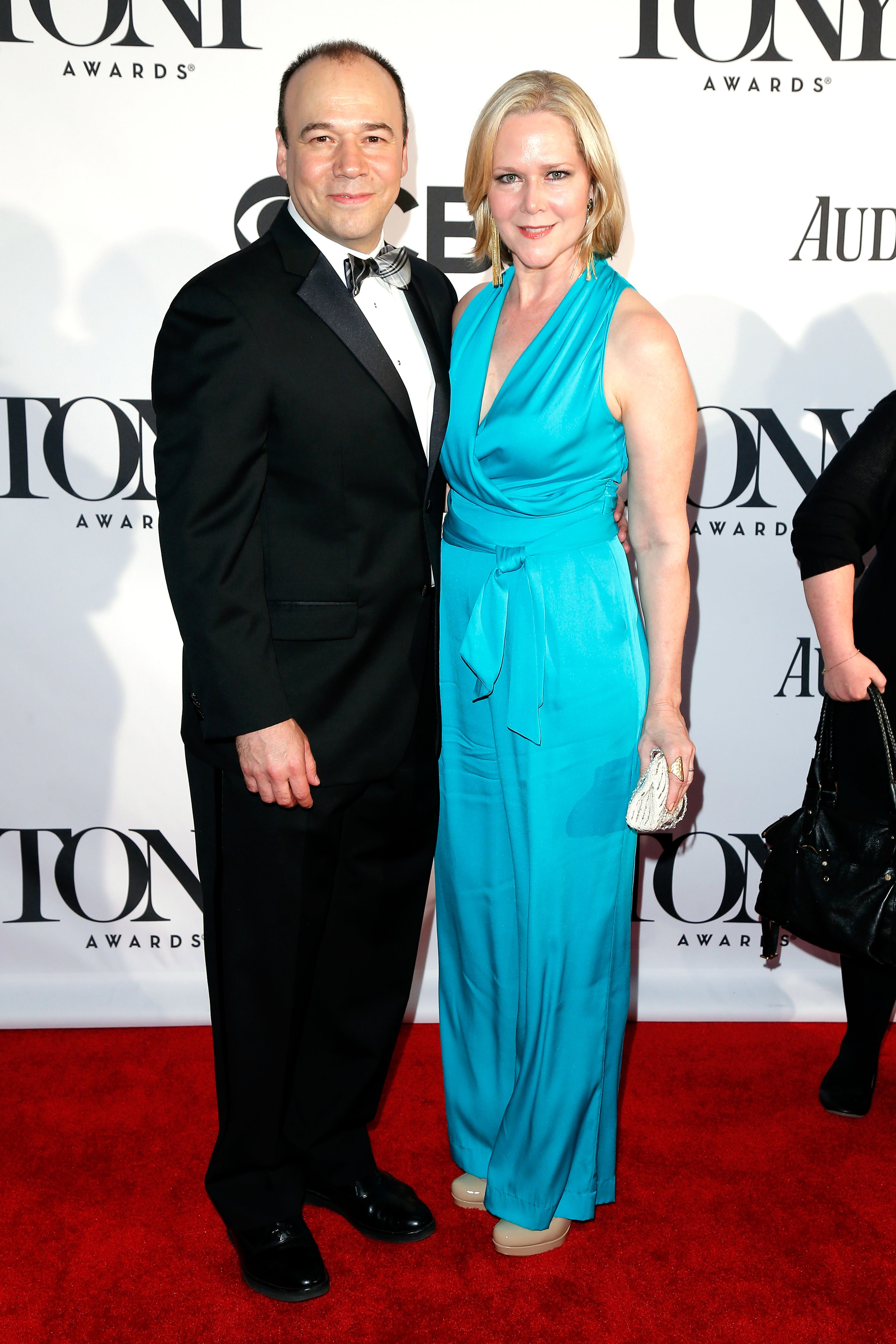 Actors Danny Burstein and Rebecca Luker attend The 67th Annual Tony Awards at Radio City Music Hall on June 9, 2013 in New York City.   Source: Getty Images