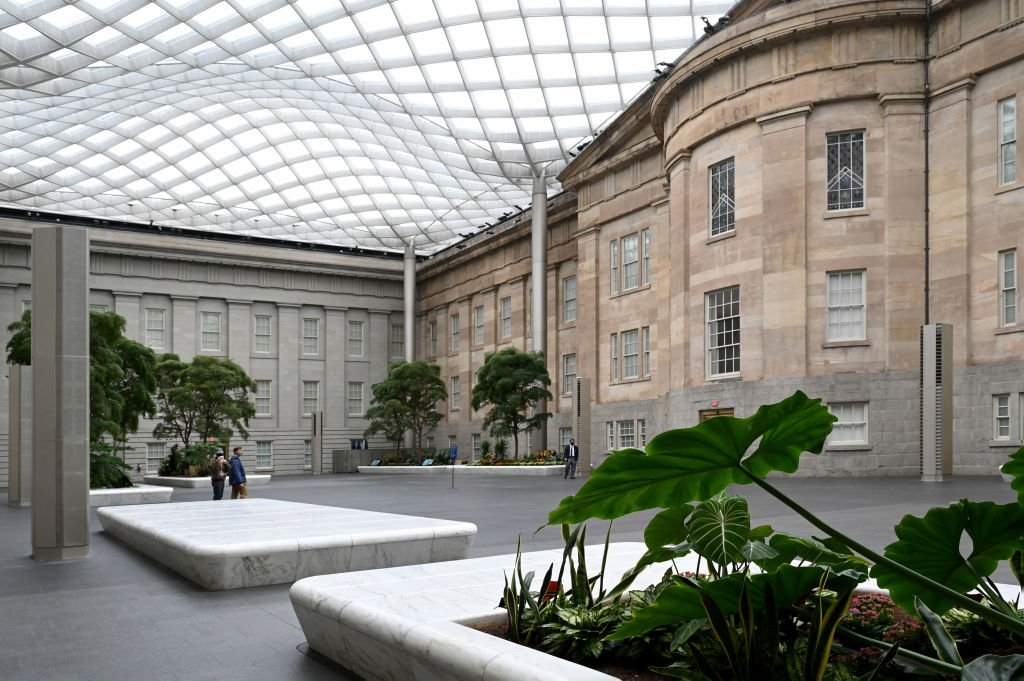 Le Smithsonian American Art Museum. I photo : Getty Images