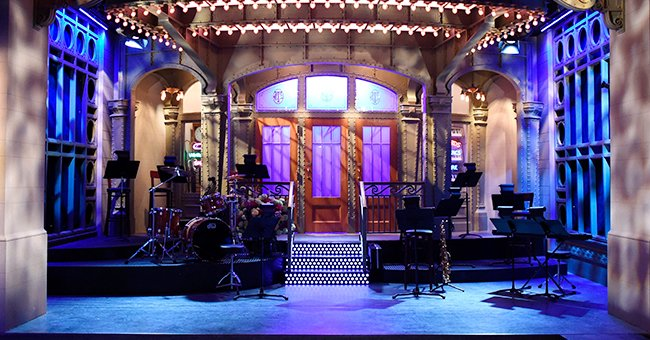 """The """"Saturday Night Live"""" set during a preview in 2015. 