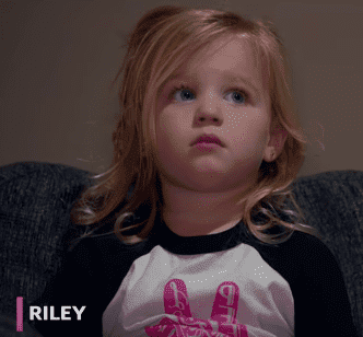 "Riley Busby from ""OutDaughtered"" season 4. 