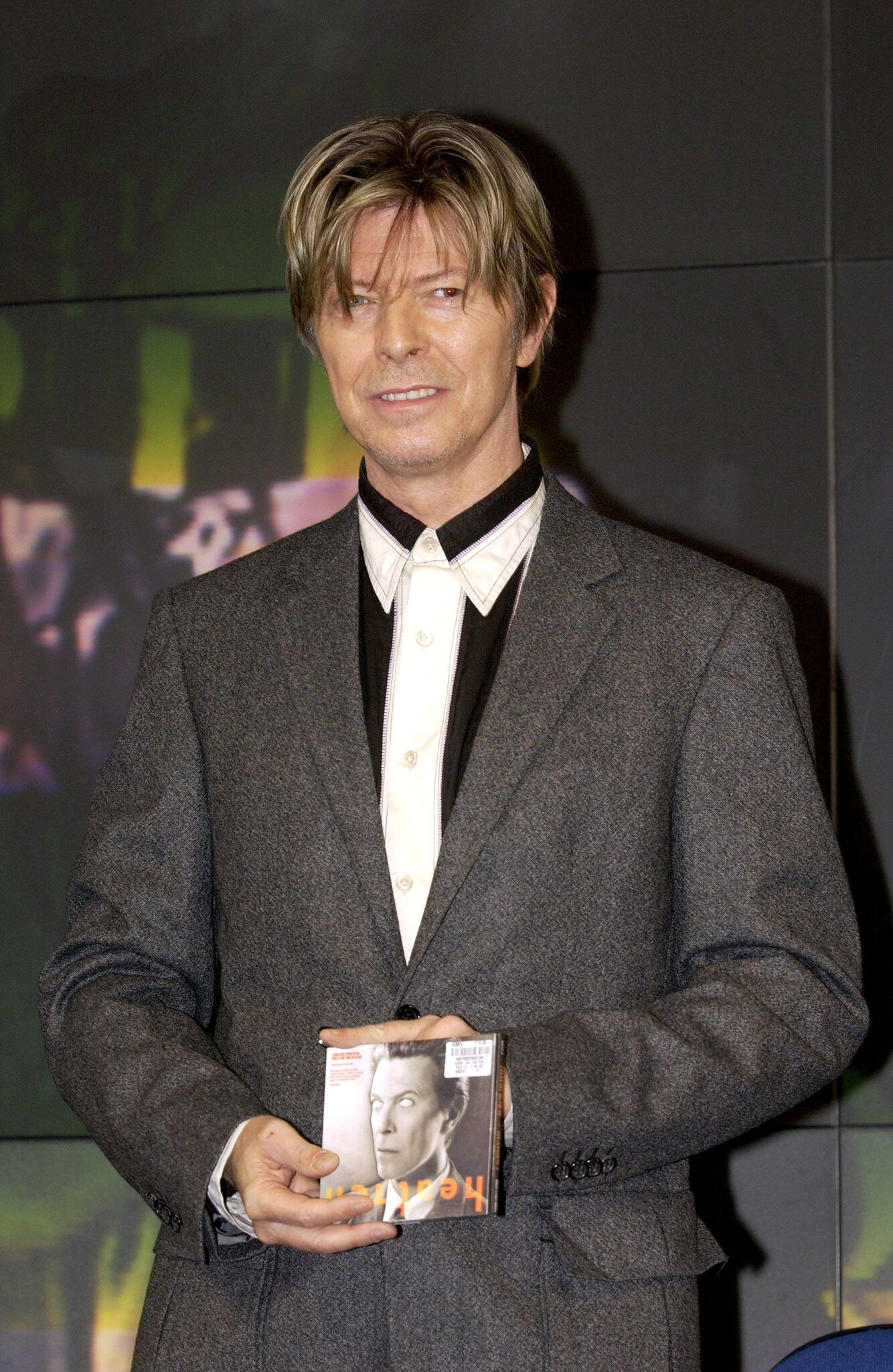 David Bowie Promoting His Album 'Heathen' At The Hmv Shop | Getty Images