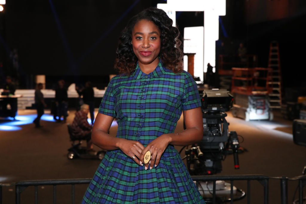 Kirby Howell-Baptiste attends Cocktails with the SAG Awards at The Shrine Auditorium  Photo: Getty Images