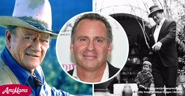 John Wayne's youngest son is already 56 years old and is following in his father's footsteps