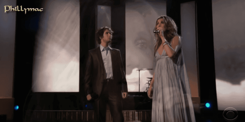 Celine Dion: Live on CBS That's Just the Woman in Me The Canadian. Image credit: YouTube/Phillymacvideos