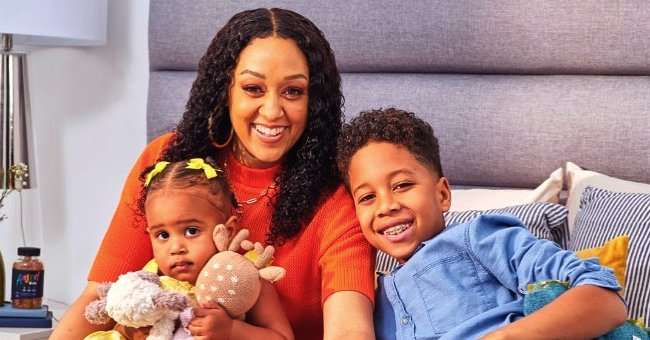 Tia Mowry of 'Sister, Sister' Says She Sustains Herself with Family's Love in a Sweet Post