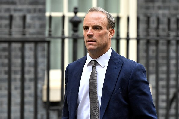 Dominic Raab, à Downing Street le 3 septembre 2019 à Londres, en Angleterre. | Photo : Getty Images