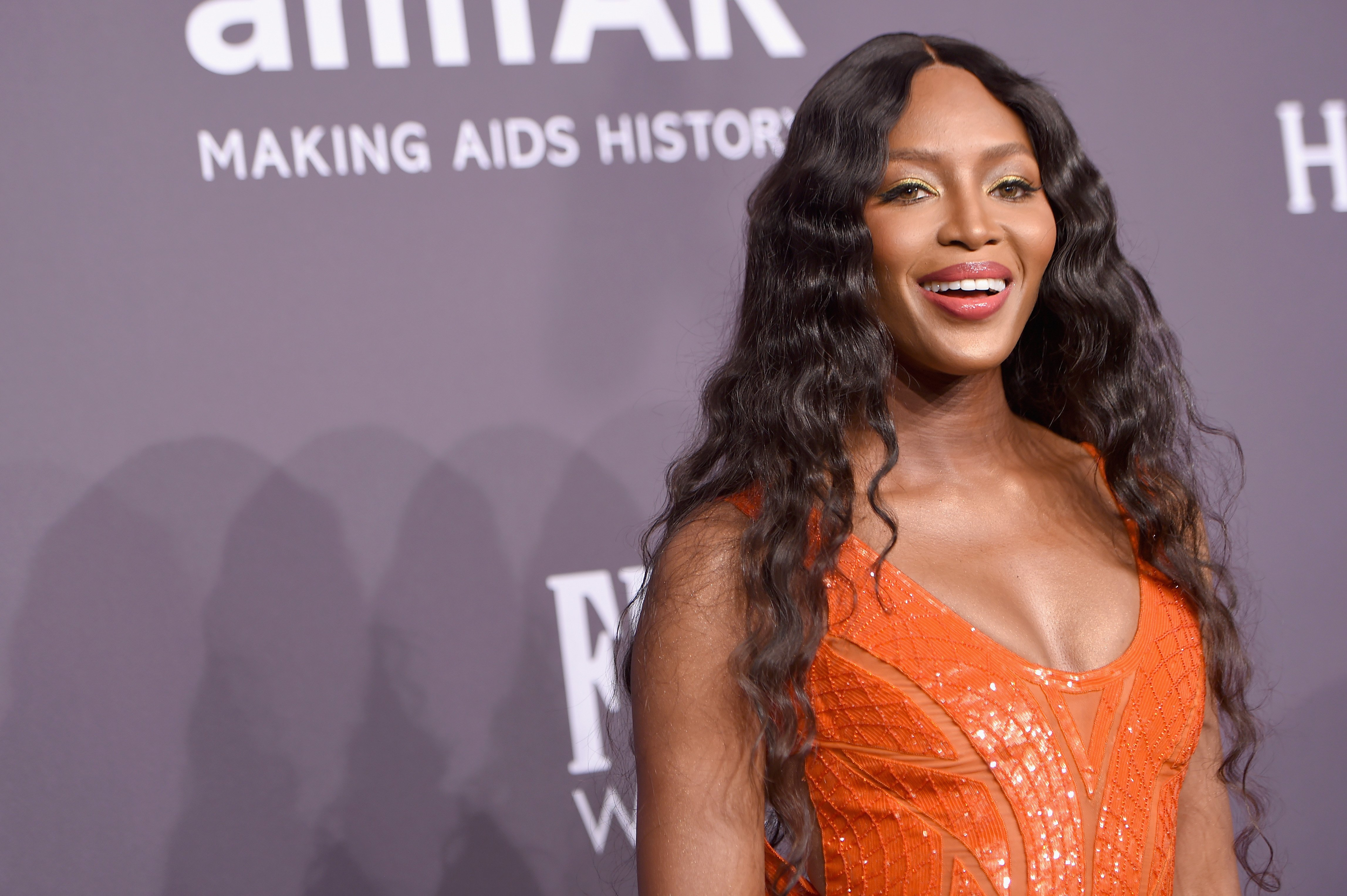 Naomi Campbell attends the 19th Annual amfAR New York Gala. | Source: Getty Images