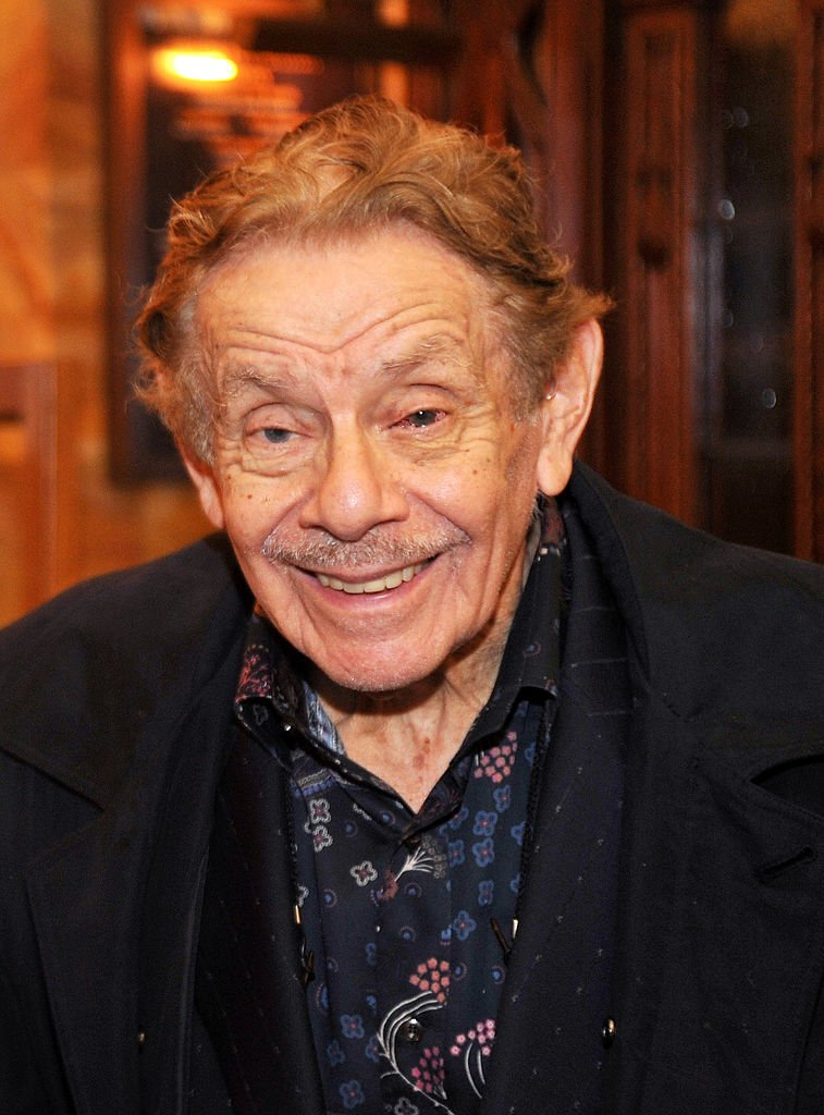 Jerry Stiller, New York City, 2010 | Quelle: Getty Images