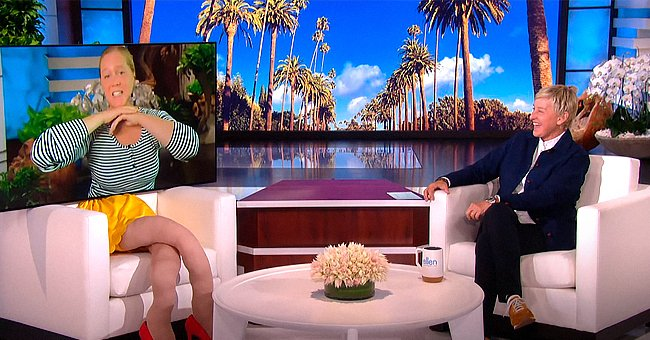 Watch Amy Schumer's Funny Virtual Appearance on 'The Ellen Show' as She Shows a Pic of Her Son