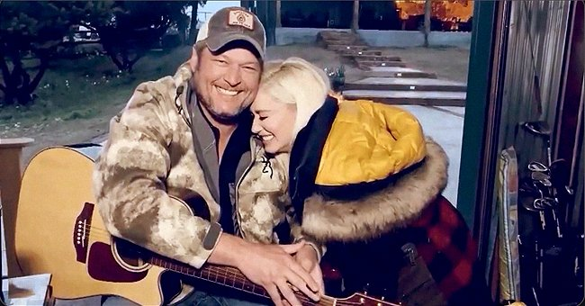 Blake Shelton and Gwen Stefani Perform 'Nobody but You' from Home on ACM Special