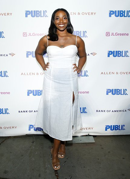 """Olivia Washington attends """"Much Ado"""" opening night at Delacorte Theater on June 11, 2019 