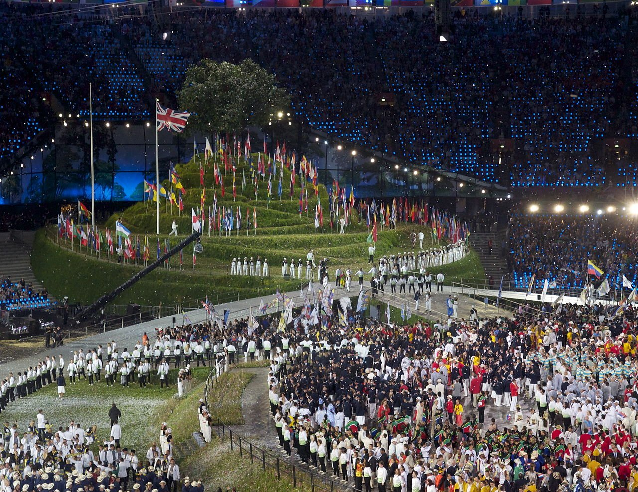 2012 Summer Olympics opening ceremony | Source: Wikimedia Commons