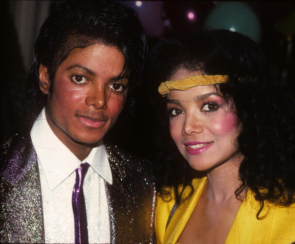 Michael Jackson and La Toya Jackson at their mother Katherine Jackson's birthday party in Los Angeles, California. | Photo: Getty Images