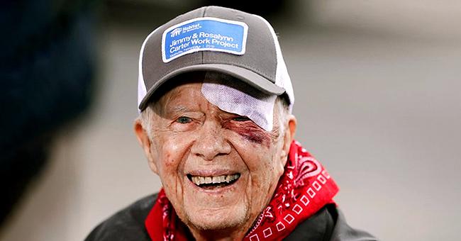 Jimmy Carter, 95 ans, hospitalisé après une chute dans sa maison en Géorgie