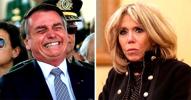 Brigitte Macron publiquement moquée pour sa physique par le président brésilien