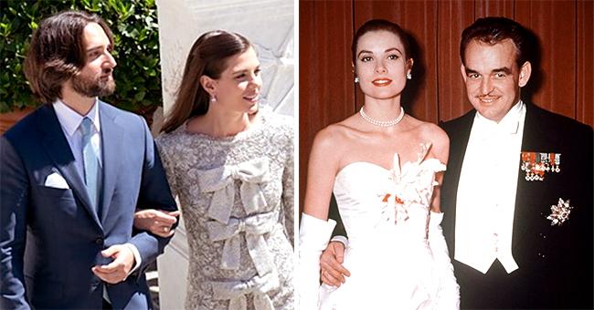 Charlotte Casiraghi a rendu hommage à sa grand-mère Grace Kelly, à son mariage