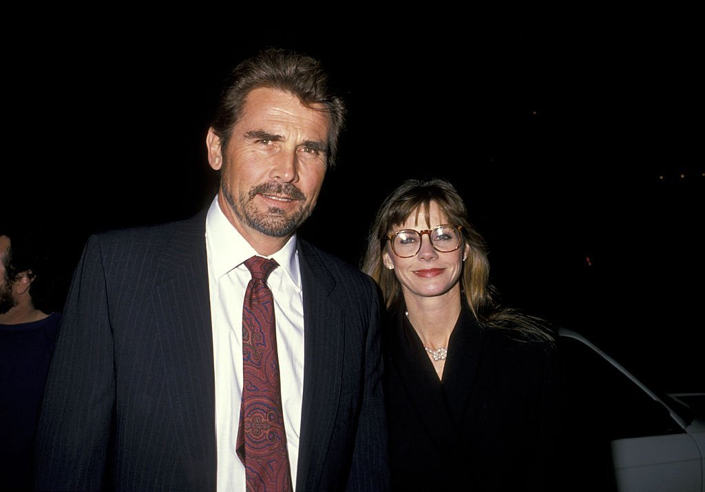 "ames Brolin and Wife Jan Smithers during ""Beaches"" Premiere at Academy Theater in Los Angeles, California in 1988 